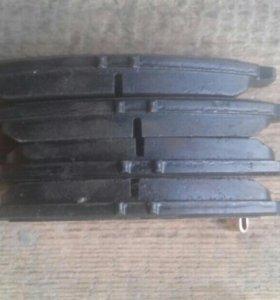 Передние тормозные колодки TRW