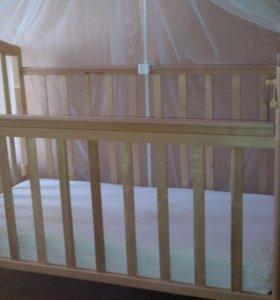 Детская кроватка-качалка...