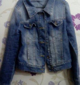 Джинсовка, куртка джинсовая 122-128 р.