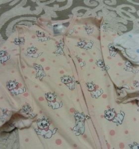 Детская пижама, H&M 2 шт
