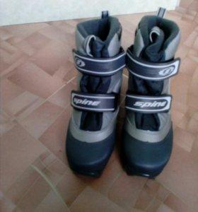 Ботинки лыжные 38р.Sprin Relax для беговых лыж
