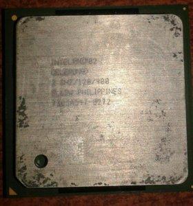 Процессор старенький.