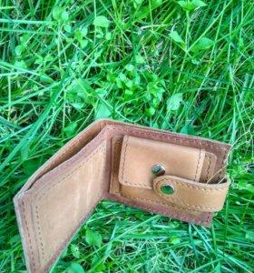 Кожаные кошельки ручной работы