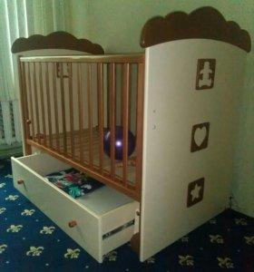 Детские кроватка