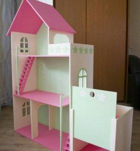 Кукольный домик, домик для кукол