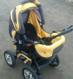 Детская коляска трансформер зима лето