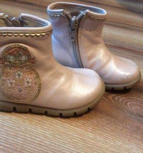 Итальянские ботиночки на Девочку