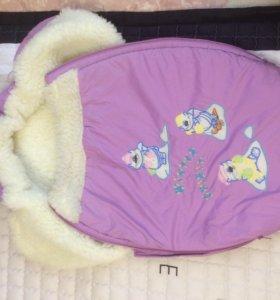Продам детский зимний мешок