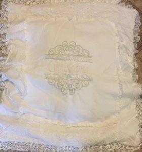 Конверт, одеяло и подушка