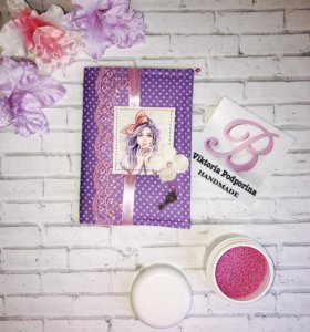Обложка для паспорта / Скрапбукинг / Свадьба