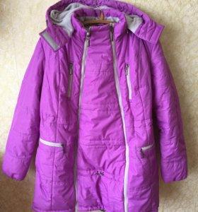 Куртка 3в1 для беременных и слингоношения