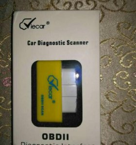 Диагностический bluetooth сканер obd2 obdII v 1.5