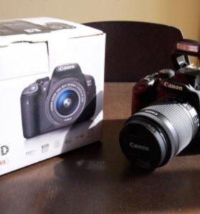 Canon 700D kit 18-55mm (пробег 3000 кадров)