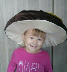 Костюм грибочек (шляпа)
