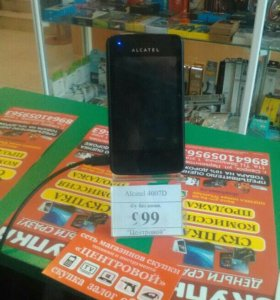 Телефон Alcatel 4007D