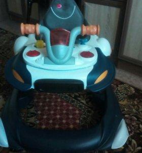 Ходунки- прыгунки в виде мотоцикла