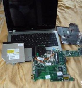 Ноутбук DNS 0152061 на запчасти