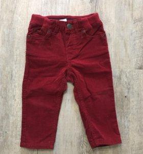 Вельветовые штанишки h&m