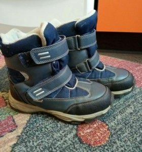 ботинки зима р35