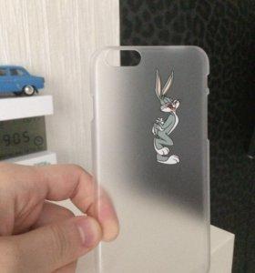 Пластиковый чехол для айфона 6s