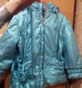 Куртка для девочки р-р 98 (2-3 года)