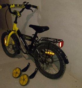 Детский велосипед (4-7 лет)