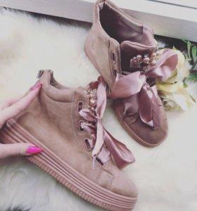 Осенние ботиночки 🌸