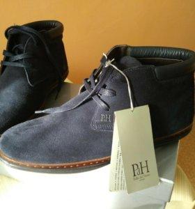 Мужские замшевые ботинки 42 размер Португалия