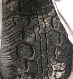 Зимние шины на дисках цена за все
