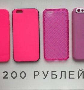 Чехлы новые на iPhone 6-6s