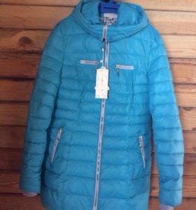 Пуховик куртка женская новый зима весна