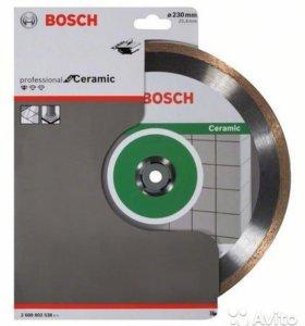 Алмазный диск Bosch по керамике плитке 230x25.4 мм
