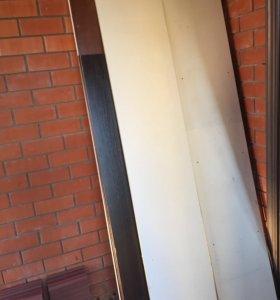Шкаф в разборе без фурнитуры (массив)