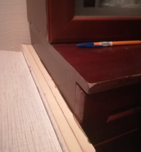 Шкаф под книги с тумбой