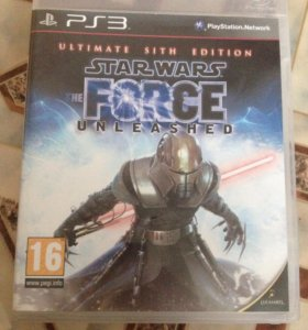 Star Wars The Forse Unleashed. (PS3)