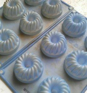 Формочки для выпечки маффинов силиконовые