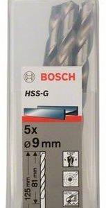 Сверло Bosch по металлу d 9 x 81 x 125 mm