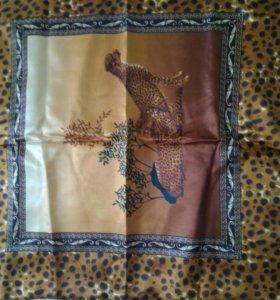 Шелковое постельное белье новое