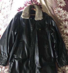 Кожаная мужская куртка в идеале