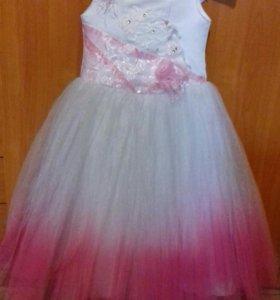 платье на 8-10лет