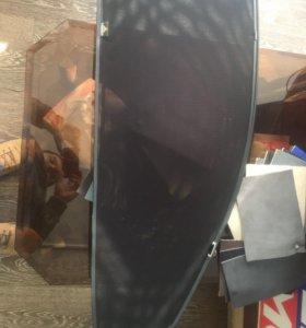 Шторки на передние стекла съёмные. Митцубиши asx