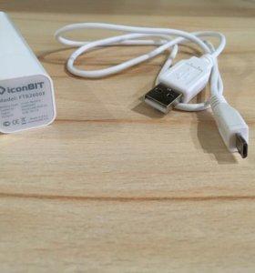 Портативное зарядное устройство iconBIT