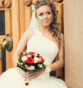 Свадебное платье для шикарной невесты