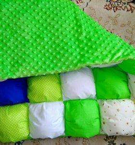 Детский коврик/одеала ручной работы