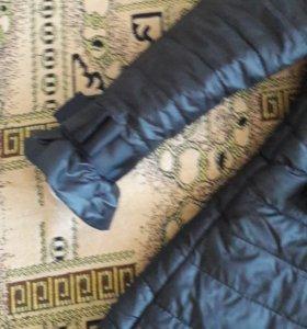 Осенняя куртка удлиненная.46р.