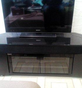Полка под телевизор с акустикой панасоник