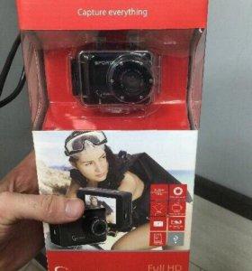 Экшн камера Gembird 1080p