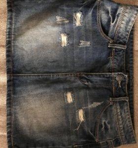 Джинсовая юбка Кира пластинина