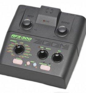 Процессор эффектов звуковой zoom RFX-300