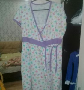 Халат для беременной и кормящей мамы